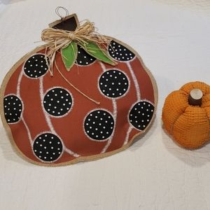 FALL 🧡 Hanging & Sitting Pumpkin Decorations